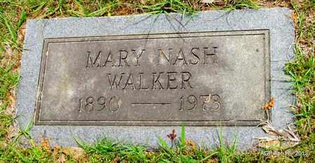 WALKER, MARY - Lafayette County, Arkansas   MARY WALKER - Arkansas Gravestone Photos