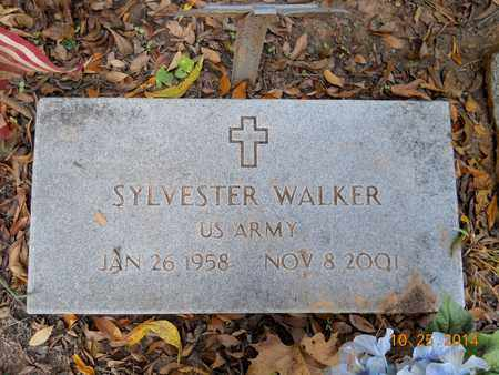 WALKER (VETERAN), SYLVESTER - Lafayette County, Arkansas | SYLVESTER WALKER (VETERAN) - Arkansas Gravestone Photos