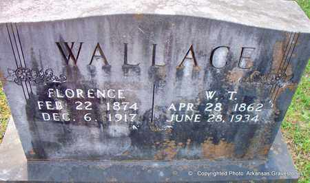 WALLACE, W T - Lafayette County, Arkansas | W T WALLACE - Arkansas Gravestone Photos