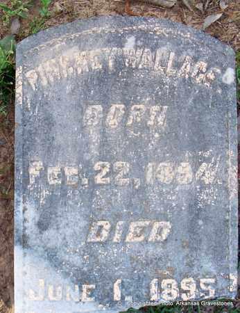 WALLACE, PINK MAY - Lafayette County, Arkansas   PINK MAY WALLACE - Arkansas Gravestone Photos