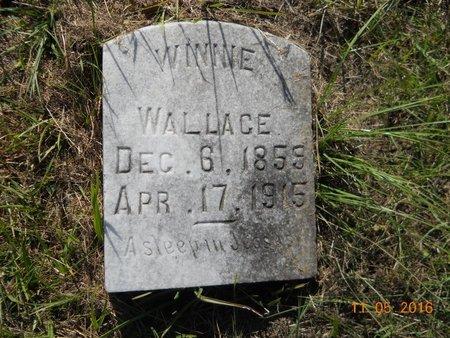 WALLACE, WINNIE - Lafayette County, Arkansas | WINNIE WALLACE - Arkansas Gravestone Photos