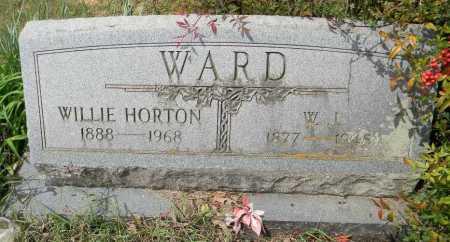 WARD, WILLIE - Lafayette County, Arkansas | WILLIE WARD - Arkansas Gravestone Photos