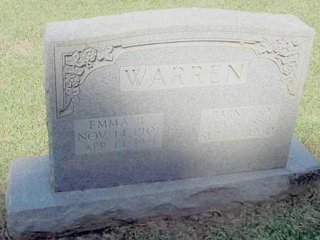 WARREN, EMMA L - Lafayette County, Arkansas   EMMA L WARREN - Arkansas Gravestone Photos