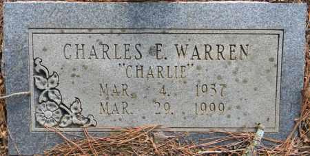 "WARREN, CHARLES E ""CHARLIE"" - Lafayette County, Arkansas   CHARLES E ""CHARLIE"" WARREN - Arkansas Gravestone Photos"