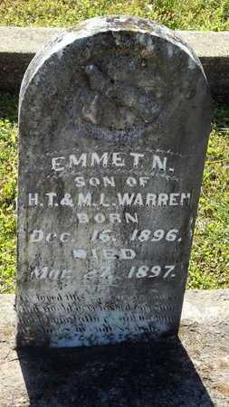 WARREN, EMMET N - Lafayette County, Arkansas | EMMET N WARREN - Arkansas Gravestone Photos