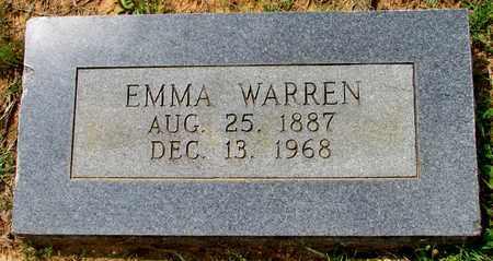 WARREN, EMMA - Lafayette County, Arkansas   EMMA WARREN - Arkansas Gravestone Photos