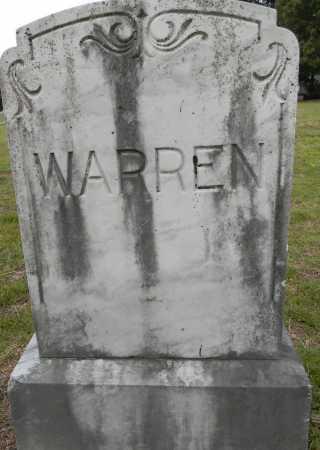 WARREN, FAMILY MARKER - Lafayette County, Arkansas | FAMILY MARKER WARREN - Arkansas Gravestone Photos