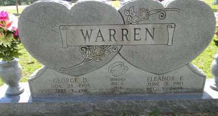 WARREN, ELEANOR E - Lafayette County, Arkansas | ELEANOR E WARREN - Arkansas Gravestone Photos