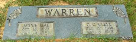 WARREN, JESSIE MAE - Lafayette County, Arkansas   JESSIE MAE WARREN - Arkansas Gravestone Photos