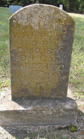 WARREN, J R - Lafayette County, Arkansas | J R WARREN - Arkansas Gravestone Photos