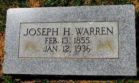 WARREN, JOSEPH H. - Lafayette County, Arkansas   JOSEPH H. WARREN - Arkansas Gravestone Photos