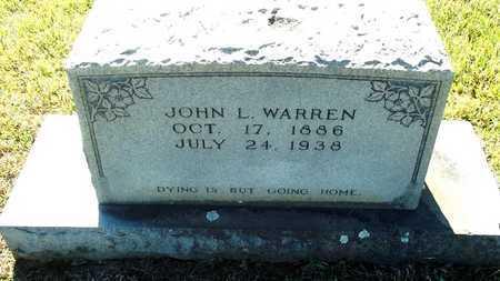 WARREN, JOHN L. - Lafayette County, Arkansas | JOHN L. WARREN - Arkansas Gravestone Photos