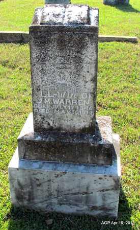 WARREN, L L - Lafayette County, Arkansas   L L WARREN - Arkansas Gravestone Photos