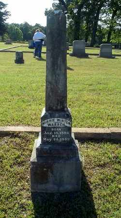 WARREN, MINNIE - Lafayette County, Arkansas | MINNIE WARREN - Arkansas Gravestone Photos