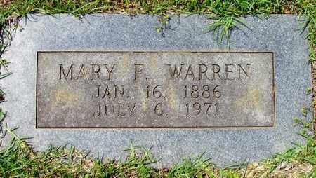 WARREN, MARY F - Lafayette County, Arkansas | MARY F WARREN - Arkansas Gravestone Photos