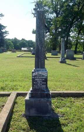 WARREN, O A - Lafayette County, Arkansas | O A WARREN - Arkansas Gravestone Photos