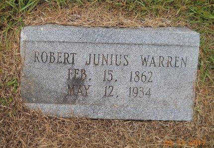 WARREN, ROBERT JUNIUS - Lafayette County, Arkansas   ROBERT JUNIUS WARREN - Arkansas Gravestone Photos