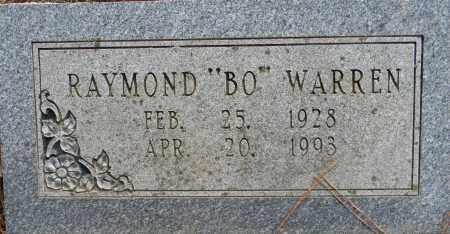 "WARREN, RAYMOND ""BO"" - Lafayette County, Arkansas | RAYMOND ""BO"" WARREN - Arkansas Gravestone Photos"