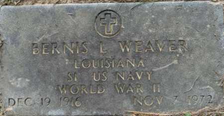 WEAVER (VETERAN WWII), BERNIS L - Lafayette County, Arkansas | BERNIS L WEAVER (VETERAN WWII) - Arkansas Gravestone Photos
