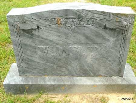WHATLEY, FAMILY MARKER - Lafayette County, Arkansas | FAMILY MARKER WHATLEY - Arkansas Gravestone Photos