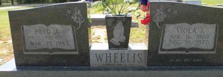 WHEELIS, VIOLA J - Lafayette County, Arkansas   VIOLA J WHEELIS - Arkansas Gravestone Photos