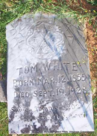 WHITE, TOM - Lafayette County, Arkansas | TOM WHITE - Arkansas Gravestone Photos