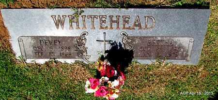 WHITEHEAD, BERTHA - Lafayette County, Arkansas | BERTHA WHITEHEAD - Arkansas Gravestone Photos