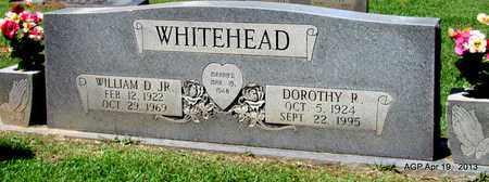 WHITEHEAD, DOROTHY R. - Lafayette County, Arkansas | DOROTHY R. WHITEHEAD - Arkansas Gravestone Photos