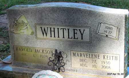 KEITH WHITLEY, MARVELENE - Lafayette County, Arkansas   MARVELENE KEITH WHITLEY - Arkansas Gravestone Photos