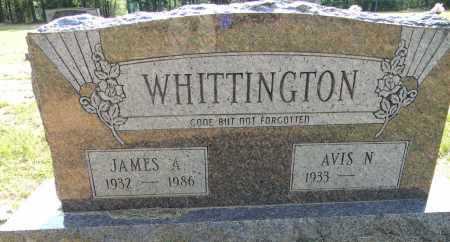 WHITTINGTON, JAMES A - Lafayette County, Arkansas | JAMES A WHITTINGTON - Arkansas Gravestone Photos