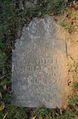 WILKERSON, ELIZABETH - Lafayette County, Arkansas | ELIZABETH WILKERSON - Arkansas Gravestone Photos