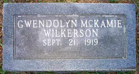 MCKAMIE WILKERSON, GWENDOLYN - Lafayette County, Arkansas   GWENDOLYN MCKAMIE WILKERSON - Arkansas Gravestone Photos