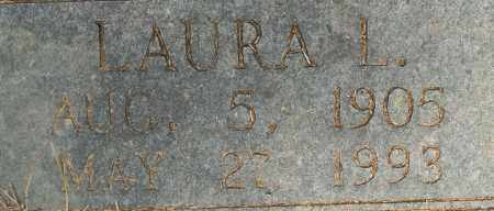 WILKERSON, LAURA L (CLOSE UP) - Lafayette County, Arkansas | LAURA L (CLOSE UP) WILKERSON - Arkansas Gravestone Photos