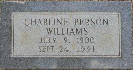WILLIAMS, CHARLINE - Lafayette County, Arkansas   CHARLINE WILLIAMS - Arkansas Gravestone Photos