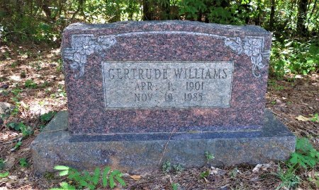 WILLIAMS, GERTRUDE - Lafayette County, Arkansas | GERTRUDE WILLIAMS - Arkansas Gravestone Photos