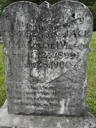 WILSON, ELMORE JACK - Lafayette County, Arkansas | ELMORE JACK WILSON - Arkansas Gravestone Photos