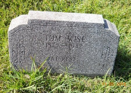 WISE, TOM - Lafayette County, Arkansas   TOM WISE - Arkansas Gravestone Photos