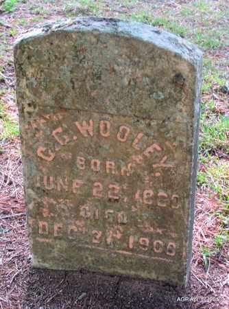 WOOLEY, C G - Lafayette County, Arkansas   C G WOOLEY - Arkansas Gravestone Photos