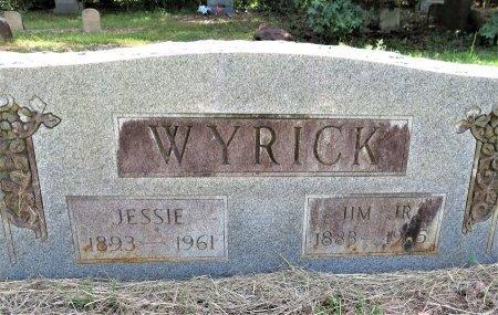 WYRICK, JESSIE - Lafayette County, Arkansas | JESSIE WYRICK - Arkansas Gravestone Photos