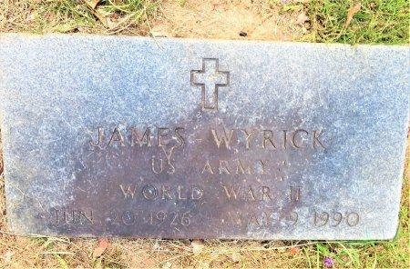 WYRICK (VETERAN WWII), JAMES - Lafayette County, Arkansas   JAMES WYRICK (VETERAN WWII) - Arkansas Gravestone Photos