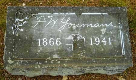 YOUMANS, F W - Lafayette County, Arkansas | F W YOUMANS - Arkansas Gravestone Photos