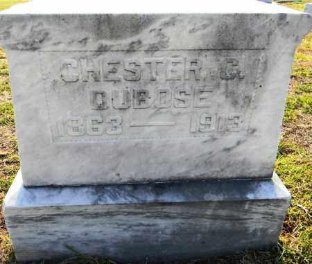 DUBOSE, CHESTER C - Lafayette County, Arkansas | CHESTER C DUBOSE - Arkansas Gravestone Photos