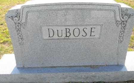 DUBOSE, FAMILY STONE - Lafayette County, Arkansas | FAMILY STONE DUBOSE - Arkansas Gravestone Photos