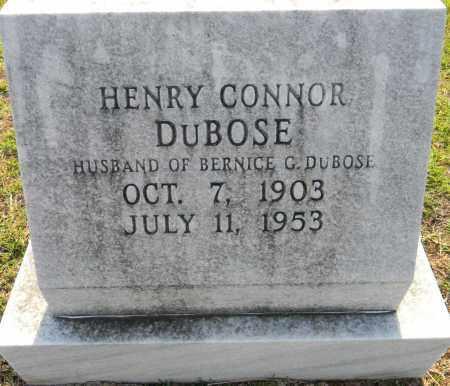 DUBOSE, HENRY CONNOR - Lafayette County, Arkansas   HENRY CONNOR DUBOSE - Arkansas Gravestone Photos