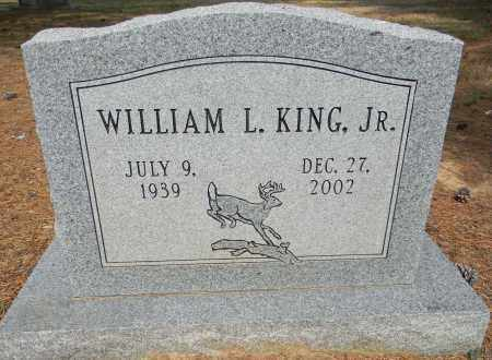 KING, JR, WILLIAM L - Lafayette County, Arkansas   WILLIAM L KING, JR - Arkansas Gravestone Photos