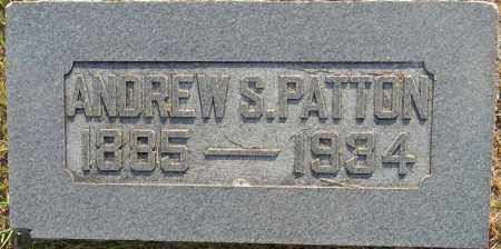 PATTON, ANDREW S - Lafayette County, Arkansas | ANDREW S PATTON - Arkansas Gravestone Photos