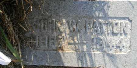 PATTON, JOHN W - Lafayette County, Arkansas | JOHN W PATTON - Arkansas Gravestone Photos