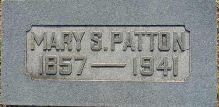 PATTON, MARY S - Lafayette County, Arkansas | MARY S PATTON - Arkansas Gravestone Photos