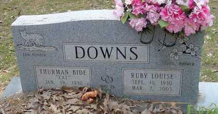 DOWNS, RUBY LOUISE - Lafayette County, Arkansas | RUBY LOUISE DOWNS - Arkansas Gravestone Photos