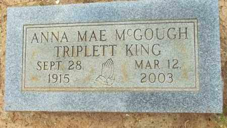 TRIPLETT, ANNA MAE - Lafayette County, Arkansas | ANNA MAE TRIPLETT - Arkansas Gravestone Photos